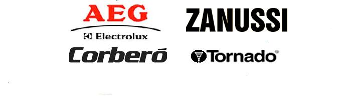 Servicio Oficial de AEG Electrolux, Zanussi, Corberó y Tornado